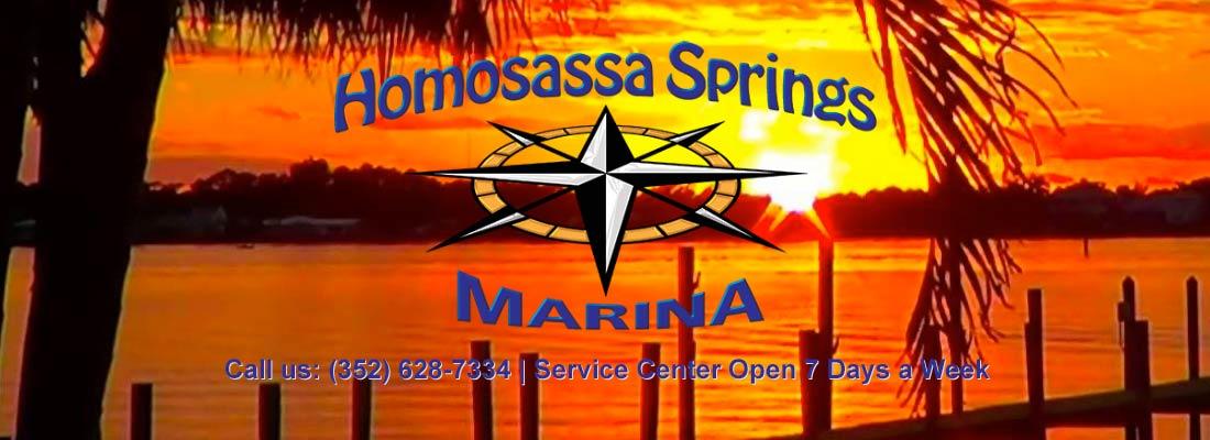 Homosassa Springs Marina Logo