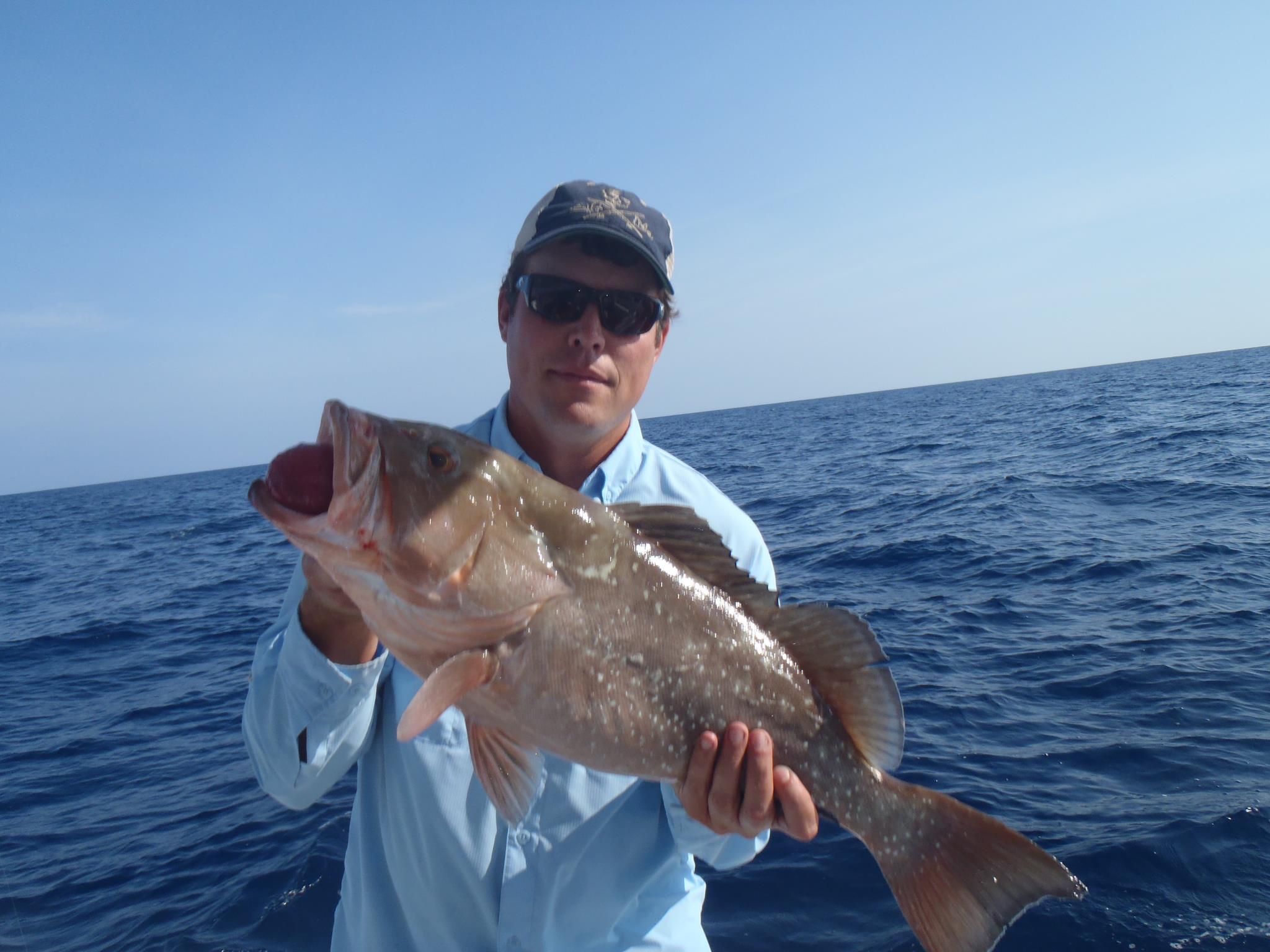 grouper caught offshore